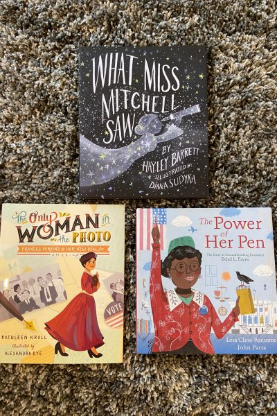 Books for Women History Month 2020